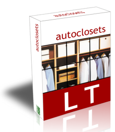 Main features of autoclosets LT 8.0 for Windows, the 2D/3D closets design software. Easy and affordable professional closet design software.